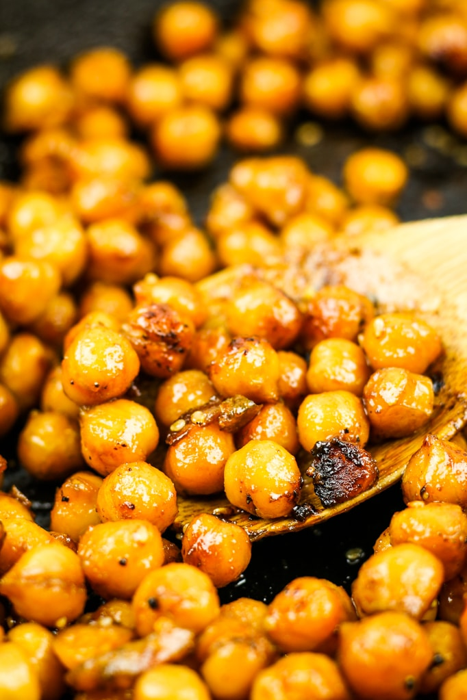 Sweet and Spicy Chickpeas