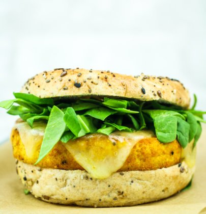 Easy Tofu Breakfast Sandwich