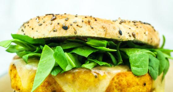 Easy Tofu Breakfast Sandwich