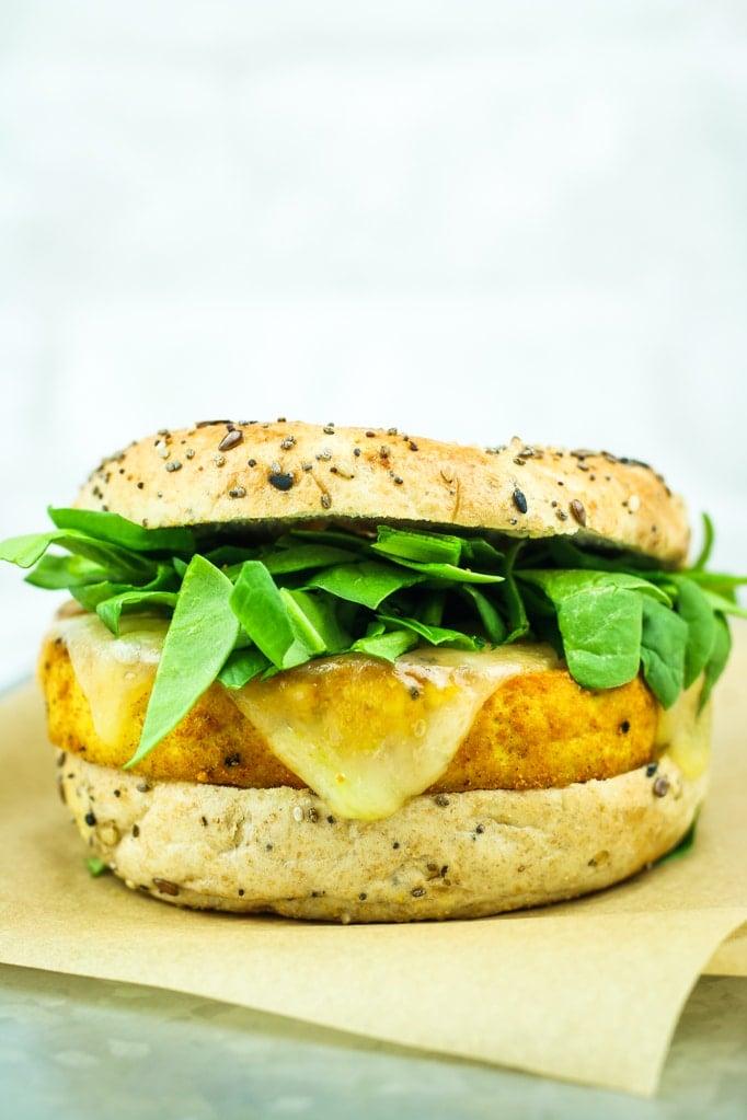 Tofu Breakfast Sandwiches