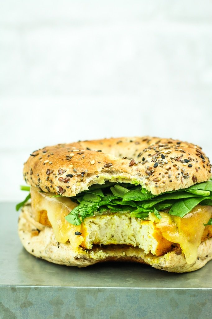 Easy Tofu Breakfast Sandwiches