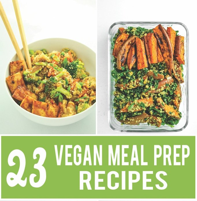 vegan meal prep roundup