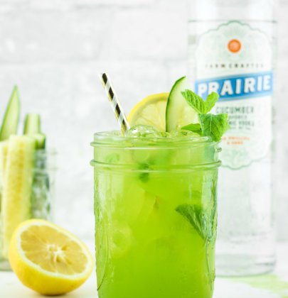 Cucumber Vodka Lemonade