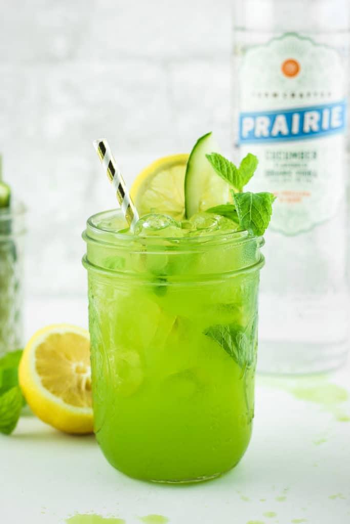 Cucumber Vodka Lemonade Vodka Bottle Lemons
