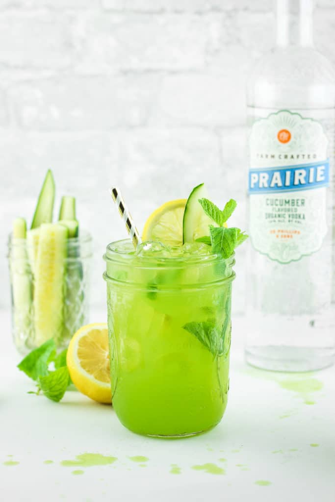 Cucumber Vodka Lemonade