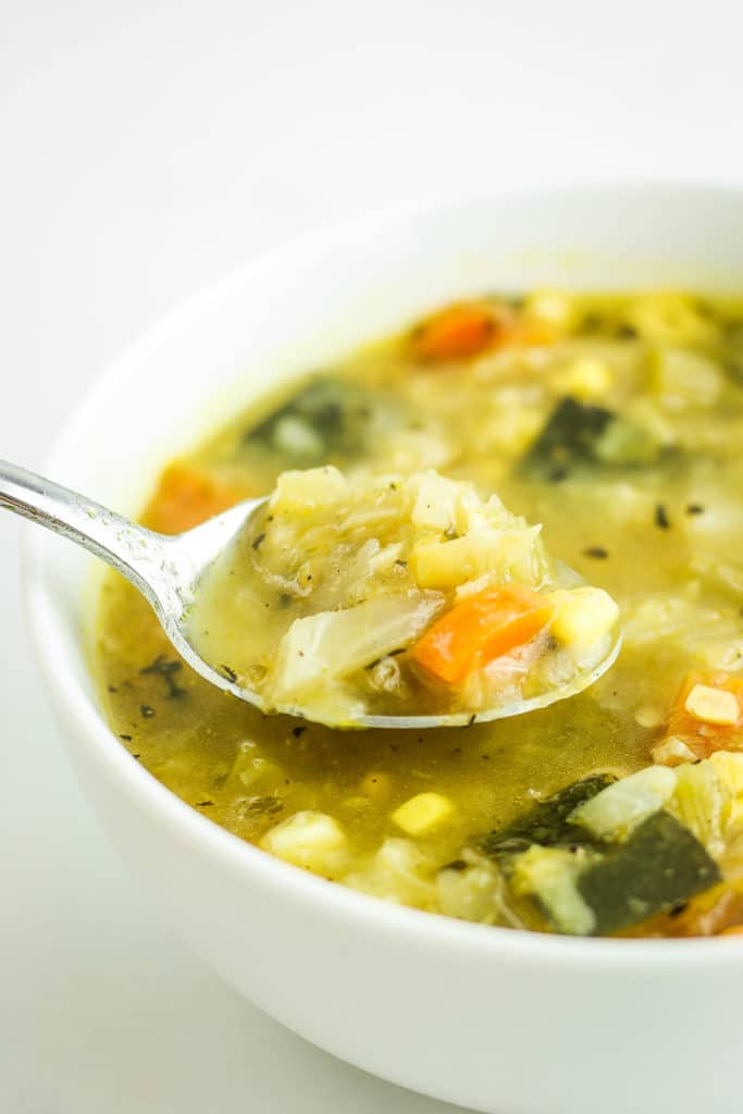 How to make basic cabbage soup at home indian style