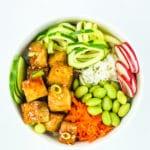 Tofu Poke Bowl Meal Prep