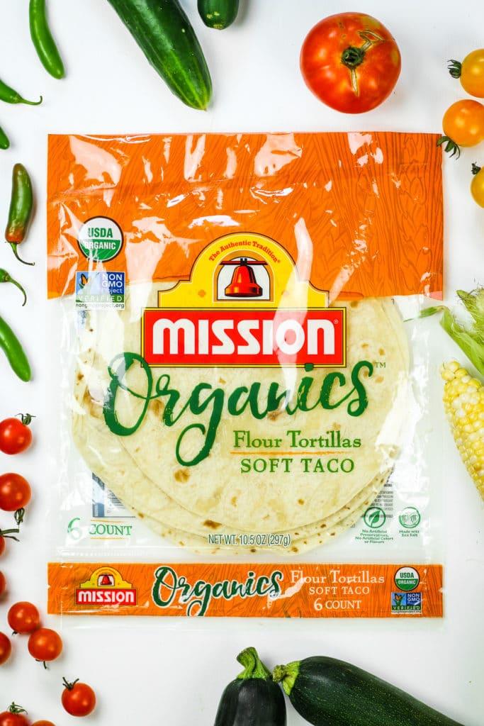 Flour Tortillas Soft Tacos