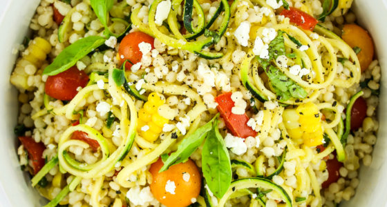 Zucchini and Corn Pasta Salad