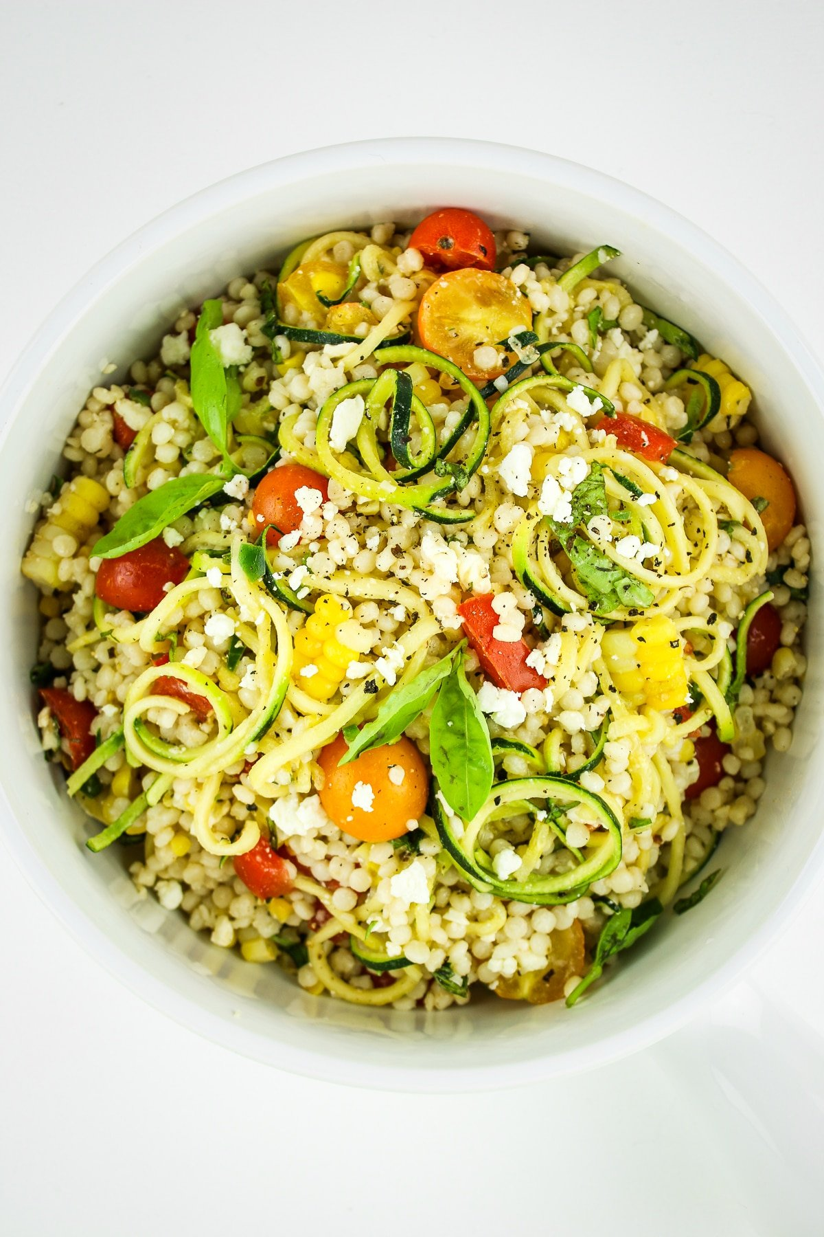 Zucchini and Corn Salad