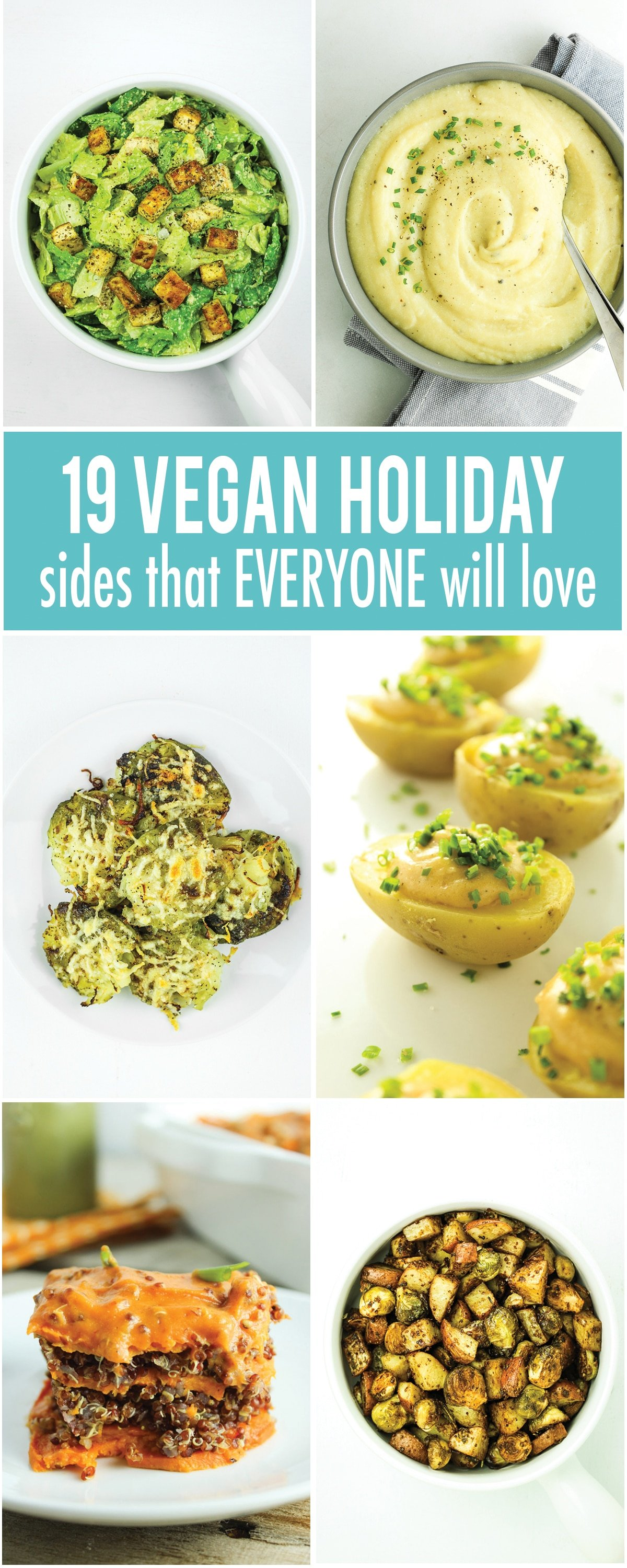 Vegan Holiday Side Dish Roundup