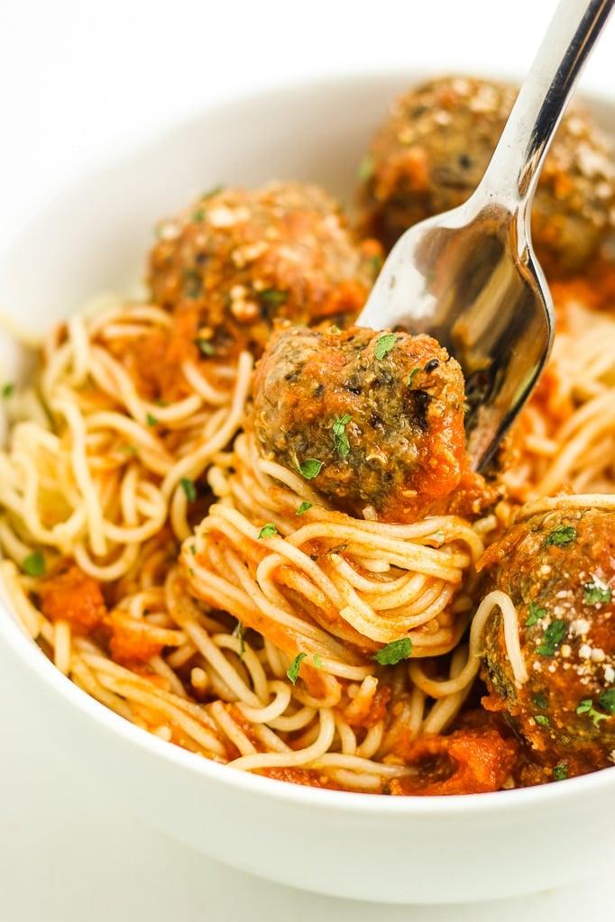 Quinoa Mushroom Meatballs