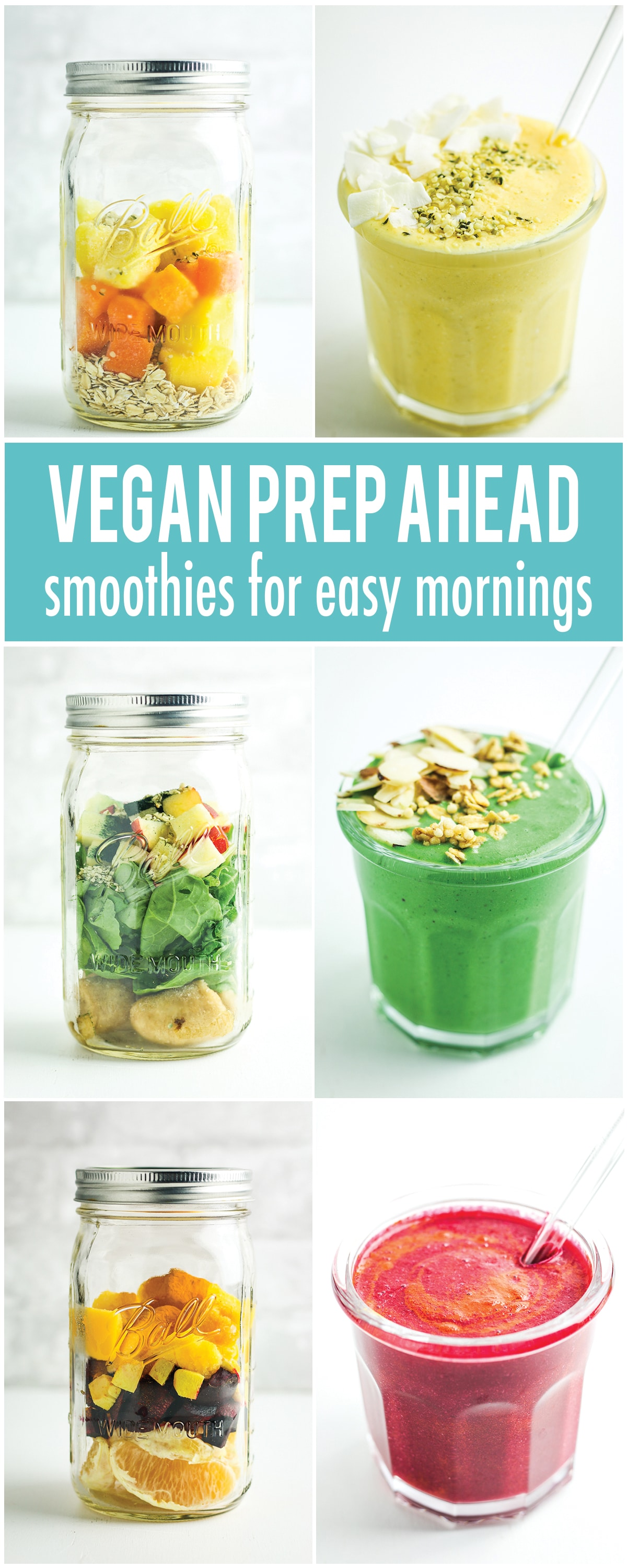 Prep Ahead Smoothie Recipes