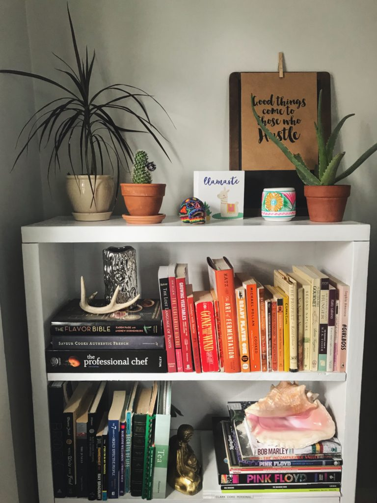 February House Update – Bookshelf styling.