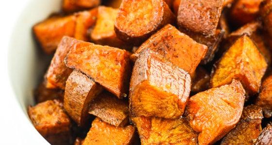 Maple Breakfast Sweet Potatoes