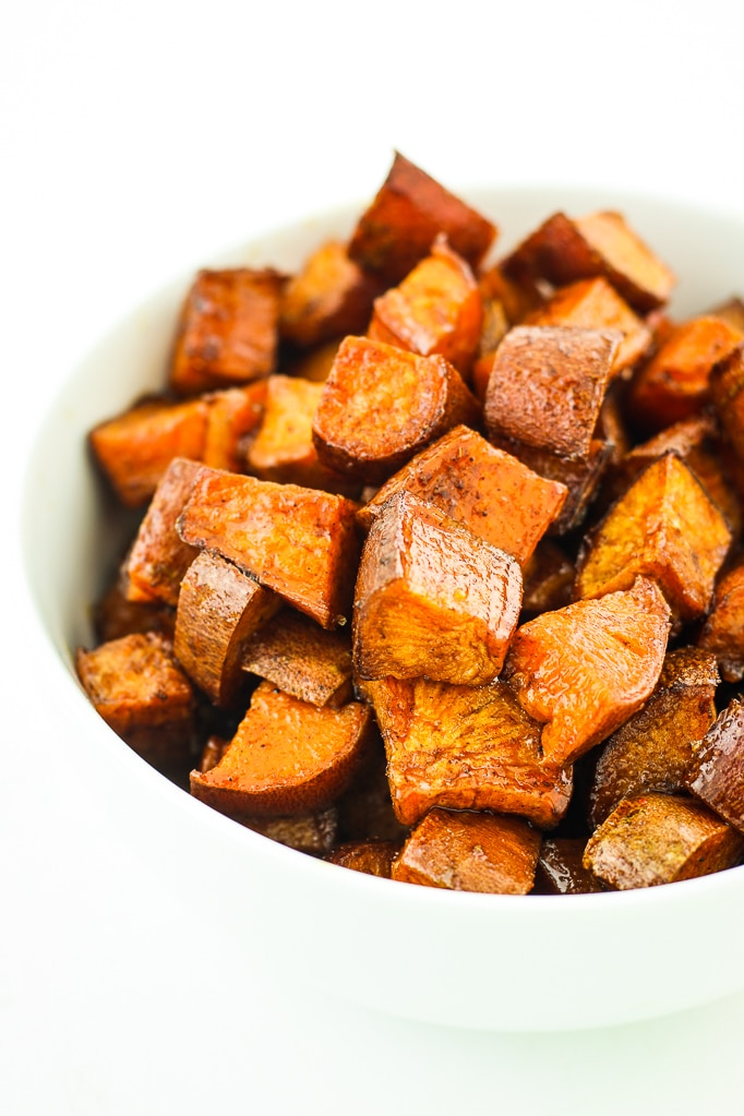 Maple Breakfast Sweet Potatoes