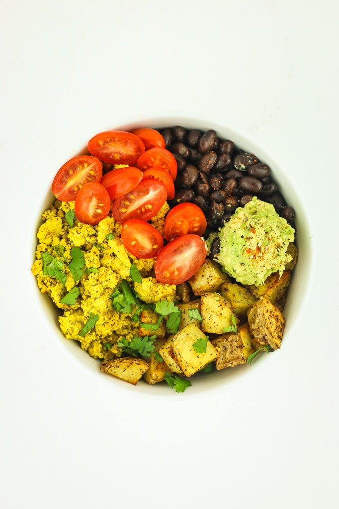 Tofu Scramble Breakfast Bowls