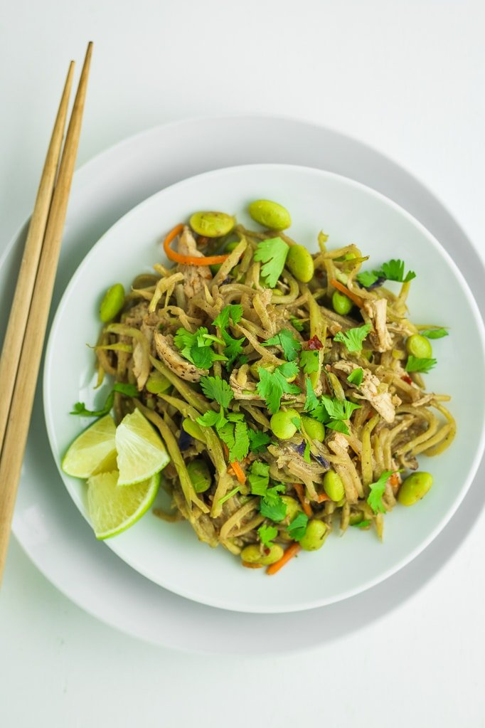 Broccoli Slaw Chicken Stir Fry