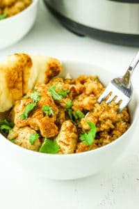 Instant Pot Curry Chicken with Rice