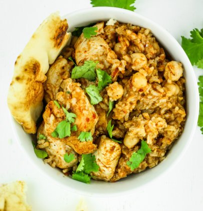 Instant Pot Curry Chicken and Rice