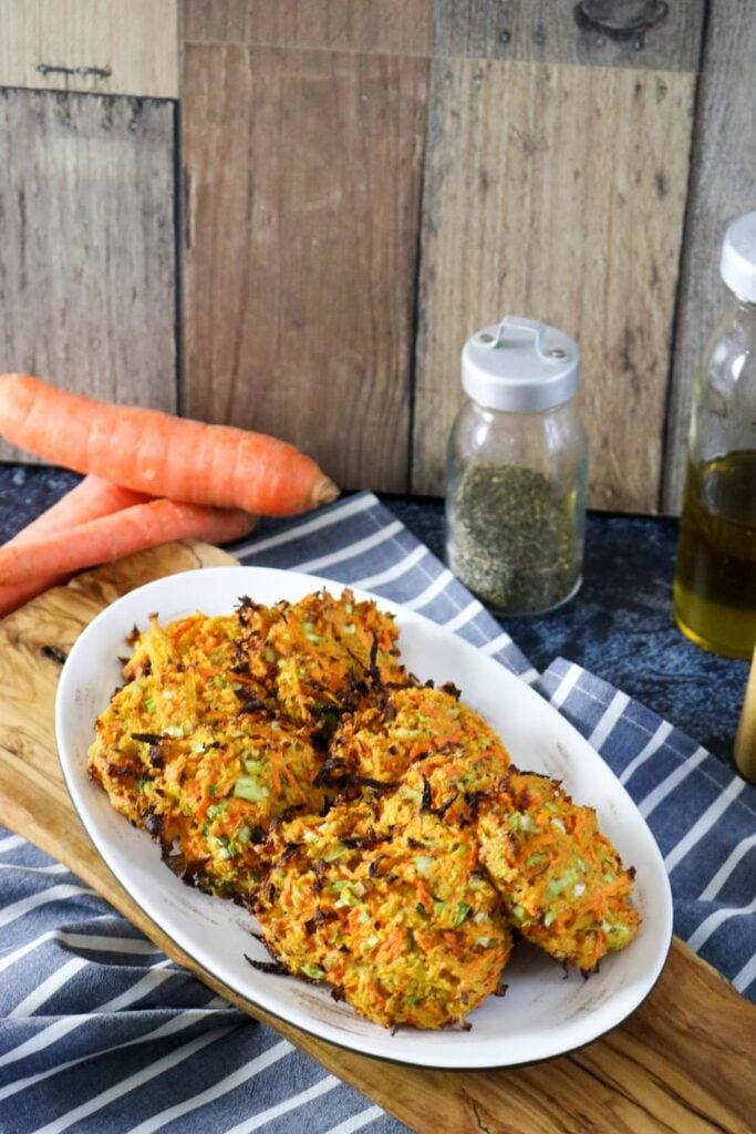 ready made carrot petties