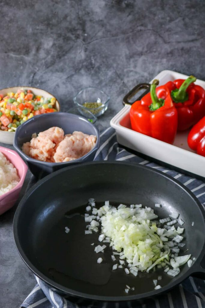 preparing your stuffed peppers